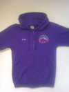 Purple Zip Up Zoodie (ADULT)